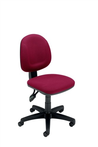 Trexus Plus Medium Back Chair Permanent Contact W460xD450xH480-590mm Back H400mm Burgundy