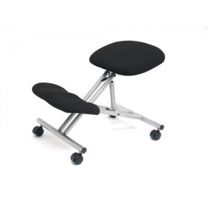 Trexus Kneeling Office Chair Steel Framed on Castors Gas Lift Seat H480-620mm Charcoal