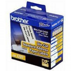 Brother Label Address Standard 29x90mm White Ref DK11201 [Roll of 400]