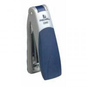 Rexel Centor Standup Half Strip Stapler Silver/Black Code 2100596