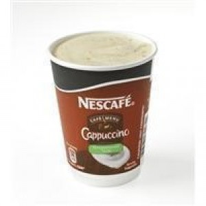 Nescafe & Go Cappuccino Foil-Sealed Cup for Drinks Machine Pack 8 Code A02784