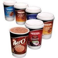 Nescafe & Go Aero Hot Chocolate Foil-Sealed Cup for Drinks Machine Pack 8 Code A02785