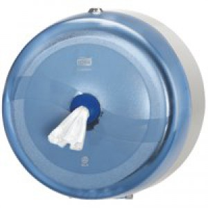 Lotus SmartOne Dispenser Wall-mounted for Toilet Tissue Fully-enclosing Blue Ref 2940201