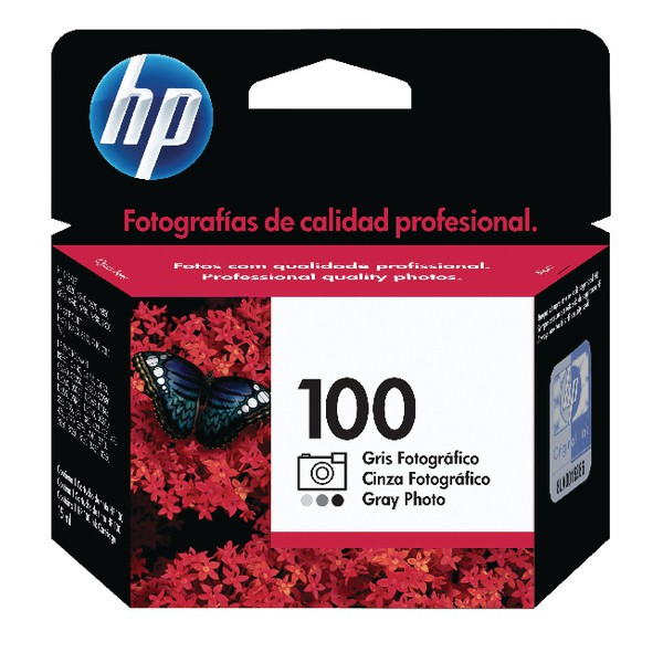 Hewlett Packard No100 Photo Inkjet Cartridge Grey C9368AE