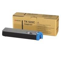 Kyocera TK-520C Laser Toner Cartridge Page Life 4000pp Cyan Ref 1T02HJCEU0
