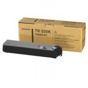 Kyocera TK-520K Laser Toner Cartridge Page Life 6000pp Black Ref 1T02HJ0EU0