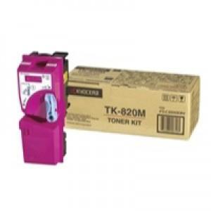 Kyocera FS-C8100DN Laser Toner Cartridge Magenta TK-820M