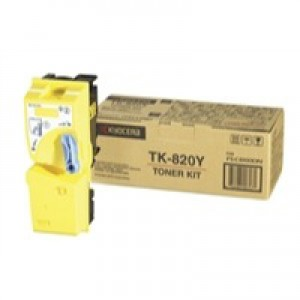 Kyocera FS-C8100DN Laser Toner Cartridge Yellow TK-820Y