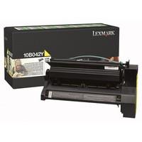 Lexmark C750 Return Programme High Yield Toner Cartridge Yellow 15k Yield Yield B042Y 10B042Y