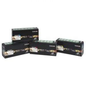 Lexmark Laser Toner Cartridge Return Program High Yield Page Life 10000pp Yellow Ref C780H1YG