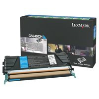 Lexmark Laser Toner Cartridge Return Program High Yield Page Life 5000pp Cyan Ref C5240CH
