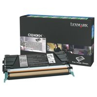 Lexmark Laser Toner Cartridge Return Program High Yield Page Life 8000pp Black Ref C5240KH