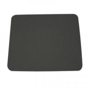 Fellowes Economy Mousepad Rubber Sponge backing and Non-slip Base Silver Ref 29702