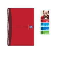 Oxford Office Notebook Wirebound Soft Cover A5 Assorted Ref 100103741 [Pack 5]