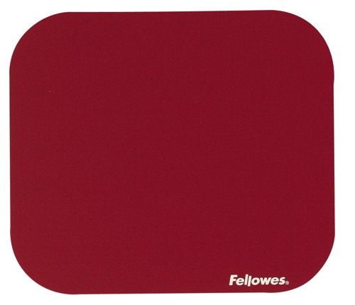 Fellowes Solid Colour Mpad Red 58022-06