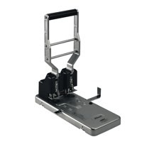 Rexel HD2150 Punch Heavy-duty 2-Hole Robust Metal Capacity 160x 80gsm Silver and Black Ref 2101234-1