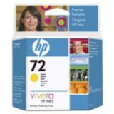 HP No.72 Inkjet Cartridge 69ml Yellow Code C9400A