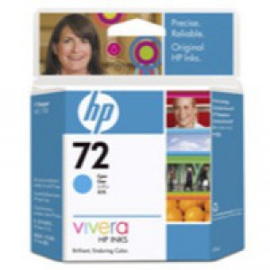 Hewlett Packard [HP] No. 72 Inkjet Cartridge 69ml Cyan Ref C9398A