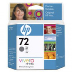 Hewlett Packard [HP] No. 72 Inkjet Cartridge 69ml Grey Ref C9401A