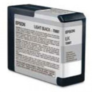 Epson T5807 Inkjet Cartridge Capacity 80ml Light Black Ref C13T580700