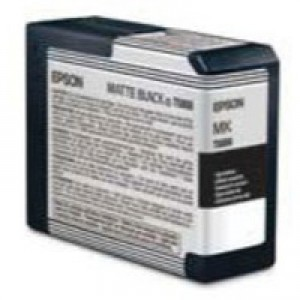 Epson T5808 Inkjet Cartridge Capacity 80ml Matt Black Ref C13T580800
