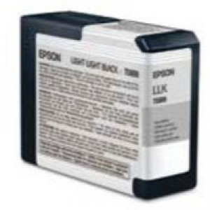 Epson T5809 Inkjet Cartridge Capacity 80ml Light Light Black Ref C13T580900