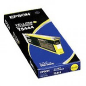 Epson T5444 Inkjet Cartridge UltraChrome Capacity 220ml Yellow Ref C13T544400