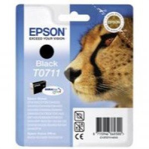 Epson Black Inkjet Cartridge DuraBrite High Yield Twin Pack C13T07114H10