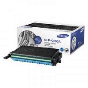 Samsung Laser Toner Cartridge Page Life 2000pp Cyan Ref CLP-C660A/ELS