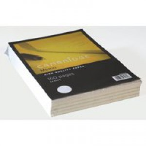 Cambridge Memo Pad Ruled 70gsm 80 Sheets A4 Code 100080156