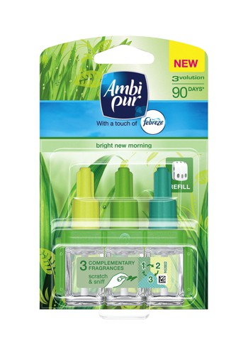 Ambi-Pur 3volution Refill for Fragrance Unit Fresh New Day Ref 92978