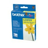 Brother Inkjet Cartridge Yellow Code LC970Y