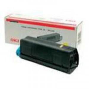 Oki C5250 Toner Cartridge Yellow 42804545