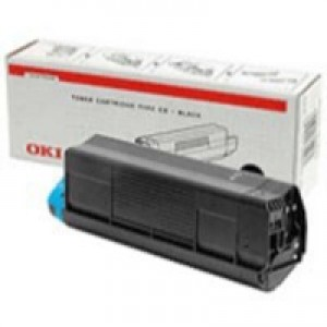 Oki C3200 Toner Cartridge Standard Yield Black 43034808