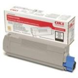 Oki Laser Toner Cartridge Black Code 43324424
