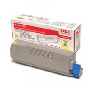 Oki Laser Toner Cartridge Yellow Code 43381905