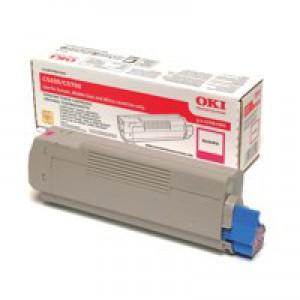 OKI Laser Toner Cartridge Page Life 2000pp Magenta Ref 43381906