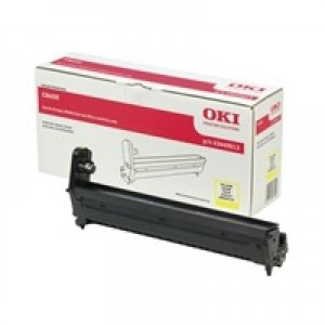 OKI Laser Drum Unit Page Life 20000pp Yellow Ref 43449013