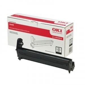 OKI Laser Drum Unit Page Life 20000pp Black Ref 43449016