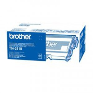 Brother Laser Toner Cartridge Black Code TN2110
