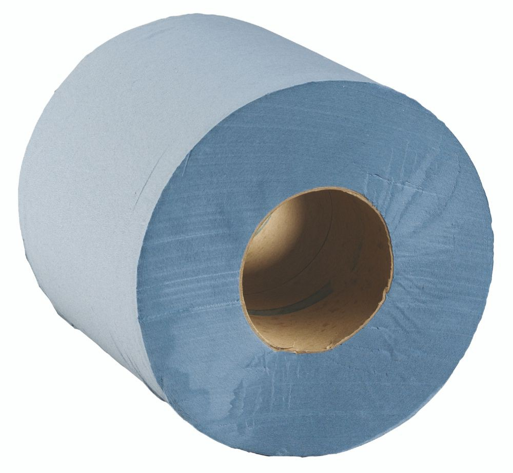 Supagreen CentreFeed Blue 2ply 180x380mm 142.5m 6x375shts