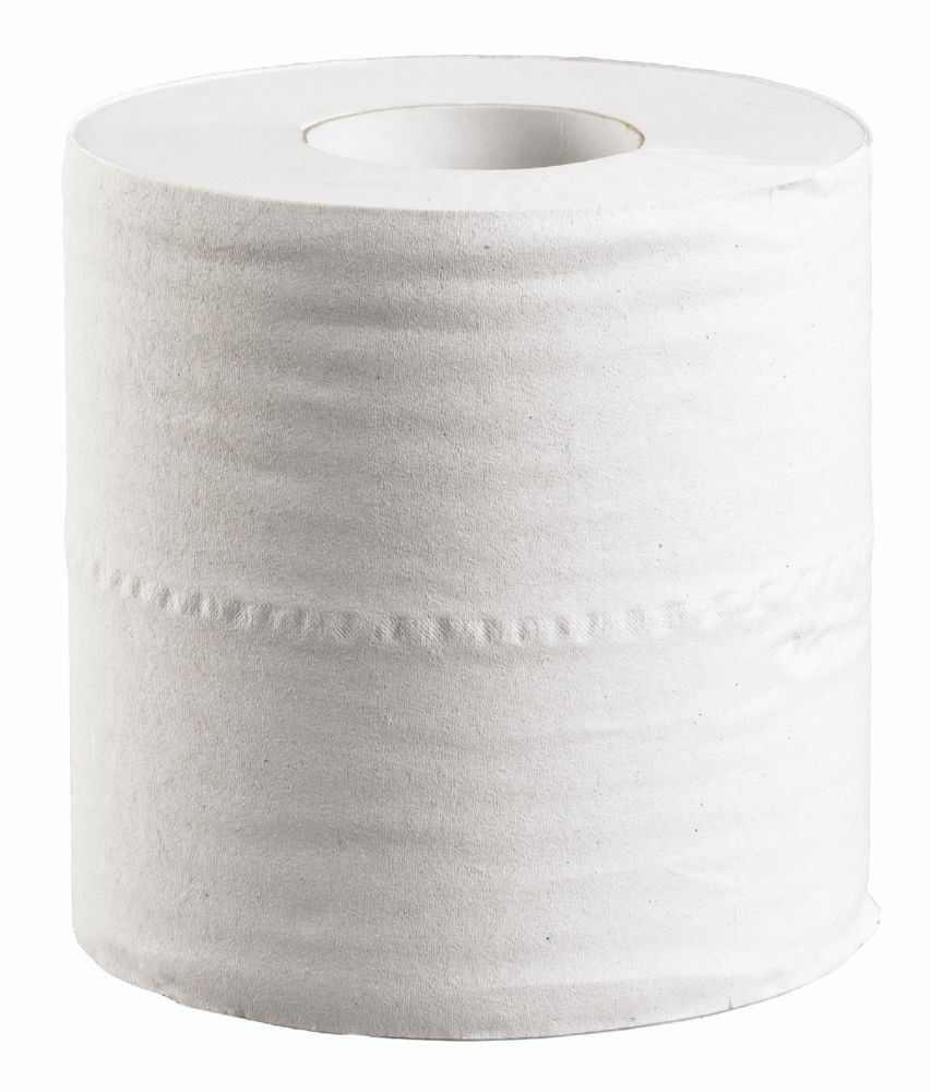 Centre Feed Rolls 2 ply White 100% Recycled 150m