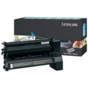 Lexmark C782 Extra High Yield Return Programme Toner Cartridge Cyan C782X1CG