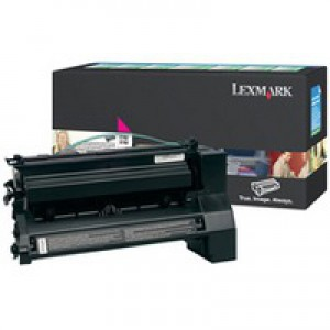 Lexmark C780/C782/X782E Extra High Yield Toner Cartridge Magenta C782X1MG