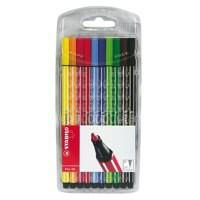 Stabilo Point 68 Fibre Tip Pen Assorted Pack of 10 6810/PL