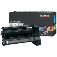 Lexmark C780/C782/X782E Return Programme Laser Toner Cartridge Black C780A1KG