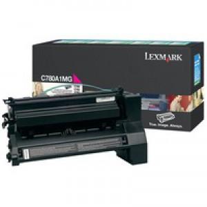 Lexmark C780/C782/X782E Return Programme Laser Toner Cartridge Magenta C780A1MG