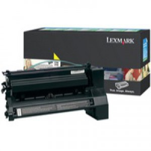 Lexmark C780/C782/X782E Return Programme Laser Toner Cartridge Yellow C780A1YG
