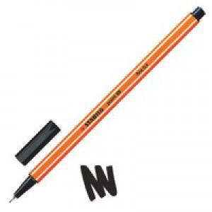 Stabilo Point 88 Fineliner Pen Black 88/46