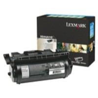 Lexmark Laser Toner Cartridge Return Program Page Life 6000pp Black Ref X644A11E